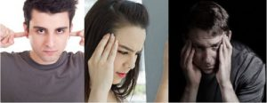 people with hearing related pain