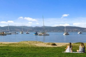 Sandy Bay Hobart Beach lifestyle